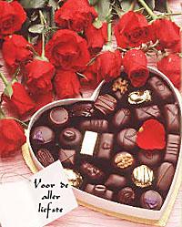 Lesbische Chocolade verrassing