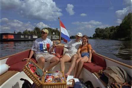 bootje varen omgeving utrecht